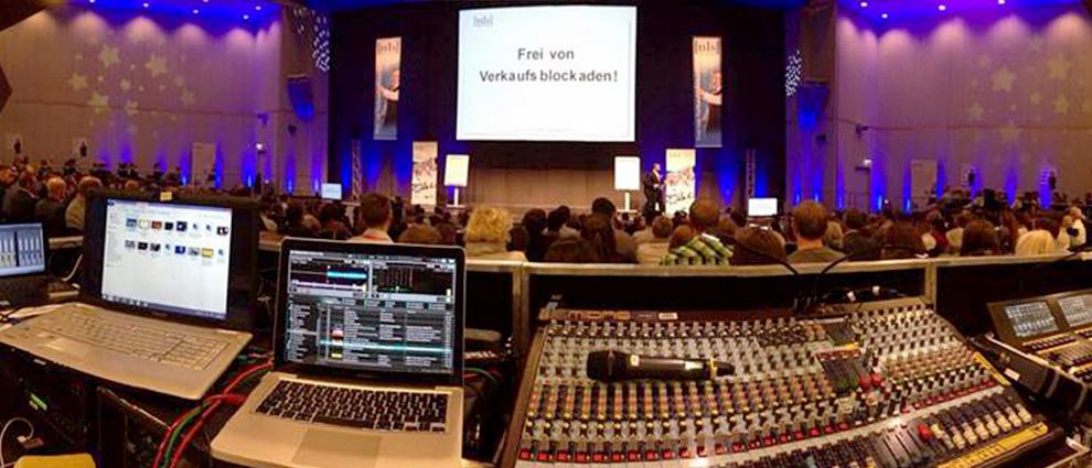 Veranstaltungstechnik, Eventservice in Berlin, Soundtechnik